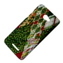 Christmas Quilt Background HTC Butterfly X920E Hardshell Case View4