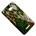 Christmas Quilt Background HTC Butterfly X920E Hardshell Case View5
