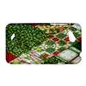 Christmas Quilt Background HTC Desire VC (T328D) Hardshell Case View1