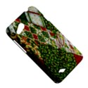 Christmas Quilt Background HTC Desire VC (T328D) Hardshell Case View5