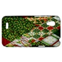 Christmas Quilt Background HTC Desire VT (T328T) Hardshell Case View1
