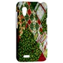 Christmas Quilt Background HTC Desire VT (T328T) Hardshell Case View2