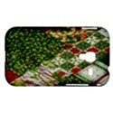 Christmas Quilt Background Samsung Galaxy Ace Plus S7500 Hardshell Case View1