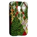 Christmas Quilt Background Samsung Galaxy Ace Plus S7500 Hardshell Case View2