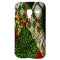 Christmas Quilt Background Samsung Galaxy Ace Plus S7500 Hardshell Case View3