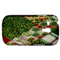 Christmas Quilt Background Samsung Galaxy S3 MINI I8190 Hardshell Case View1