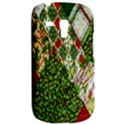Christmas Quilt Background Samsung Galaxy S3 MINI I8190 Hardshell Case View2