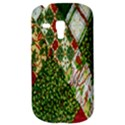 Christmas Quilt Background Samsung Galaxy S3 MINI I8190 Hardshell Case View3