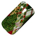 Christmas Quilt Background Samsung Galaxy S3 MINI I8190 Hardshell Case View4