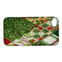 Christmas Quilt Background Apple iPhone 4/4S Hardshell Case with Stand View1