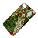 Christmas Quilt Background Apple iPhone 4/4S Hardshell Case with Stand View4