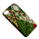 Christmas Quilt Background Apple iPhone 4/4S Hardshell Case with Stand View5