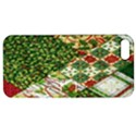 Christmas Quilt Background Apple iPhone 5 Hardshell Case with Stand View1
