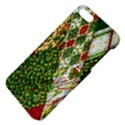 Christmas Quilt Background Apple iPhone 5 Hardshell Case with Stand View4