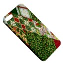 Christmas Quilt Background Apple iPhone 5 Hardshell Case with Stand View5