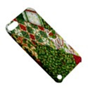 Christmas Quilt Background Apple iPod Touch 5 Hardshell Case with Stand View5