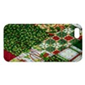 Christmas Quilt Background Apple iPhone 5 Premium Hardshell Case View1