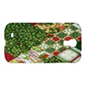 Christmas Quilt Background Samsung Galaxy S4 I9500/I9505 Hardshell Case View1