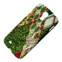 Christmas Quilt Background Samsung Galaxy S4 I9500/I9505 Hardshell Case View4