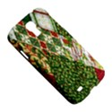 Christmas Quilt Background Samsung Galaxy S4 I9500/I9505 Hardshell Case View5