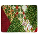 Christmas Quilt Background Samsung Galaxy Tab 7  P1000 Flip Case View1
