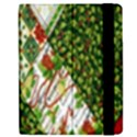 Christmas Quilt Background Samsung Galaxy Tab 7  P1000 Flip Case View2