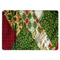 Christmas Quilt Background Samsung Galaxy Tab 10.1  P7500 Flip Case View1