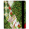 Christmas Quilt Background Samsung Galaxy Tab 10.1  P7500 Flip Case View3