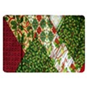 Christmas Quilt Background Samsung Galaxy Tab 8.9  P7300 Flip Case View1