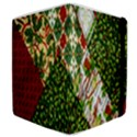 Christmas Quilt Background Samsung Galaxy Tab 8.9  P7300 Flip Case View4