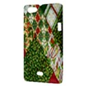Christmas Quilt Background Sony Xperia Miro View3