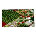 Christmas Quilt Background Sony Xperia ZL (L35H) View1