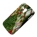 Christmas Quilt Background Samsung Galaxy Duos I8262 Hardshell Case  View4