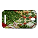 Christmas Quilt Background HTC One SV Hardshell Case View1