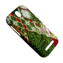 Christmas Quilt Background HTC One SV Hardshell Case View5