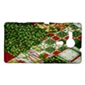 Christmas Quilt Background Sony Xperia SP View1