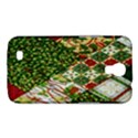 Christmas Quilt Background Samsung Galaxy Mega 6.3  I9200 Hardshell Case View1