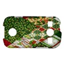 Christmas Quilt Background Samsung Galaxy S7710 Xcover 2 Hardshell Case View1