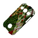 Christmas Quilt Background Samsung Galaxy S7710 Xcover 2 Hardshell Case View4