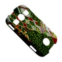 Christmas Quilt Background Samsung Galaxy S7710 Xcover 2 Hardshell Case View5