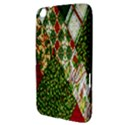 Christmas Quilt Background Samsung Galaxy Tab 3 (8 ) T3100 Hardshell Case  View3