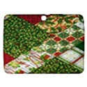 Christmas Quilt Background Samsung Galaxy Tab 3 (10.1 ) P5200 Hardshell Case  View1