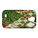 Christmas Quilt Background Samsung Galaxy S4 Classic Hardshell Case (PC+Silicone) View1