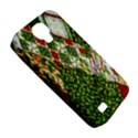 Christmas Quilt Background Samsung Galaxy S4 Classic Hardshell Case (PC+Silicone) View5