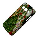 Christmas Quilt Background Samsung Galaxy Ace 3 S7272 Hardshell Case View4