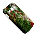 Christmas Quilt Background Samsung Galaxy Ace 3 S7272 Hardshell Case View5