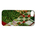 Christmas Quilt Background Apple iPhone 5S/ SE Hardshell Case View1