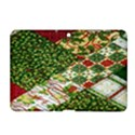 Christmas Quilt Background Samsung Galaxy Tab 2 (10.1 ) P5100 Hardshell Case  View1