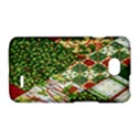 Christmas Quilt Background LG Optimus L70 View1