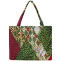 Christmas Quilt Background Mini Tote Bag View1